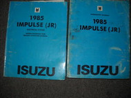 1985 Isuzu Impulse Service Repair Shop Manual Set FACTORY OEM BOOK 85