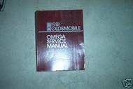 1981 Oldsmobile Olds OMEGA Service Shop Repair Manual FACTORY DEALERSHIP OEM