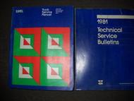 1981 Plymouth Trailduster 4X4 Service Shop Manual Set