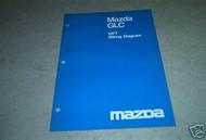 1977 Mazda GLC Electrical Wiring Diagram Service Repair Shop Manual OEM BOOK 77