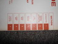 1967 Evinrude Service Shop Repair Manual 5 HP Angler 5702 5703 OEM Boat