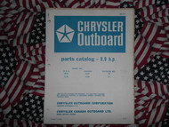 1967 Chrysler Outboard 9.9 HP Parts Catalog