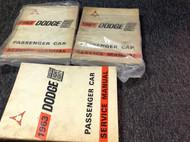 1963 Dodge Chrysler Custom Eight Eighty 88 Service Shop Repair Workshop Manual