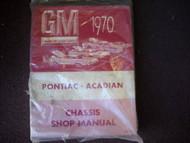 1970 PONTIAC ACADIAN BEAUMONT Chassis Service Shop Repair Manual CDN OEM Book