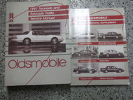1991 Oldsmobile OLDS TORONADO Service Shop Repair Manual Set FACTORY W SUPPLEMEN