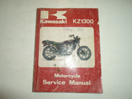 1979 1980 1981 1982 1983 Kawasaki KZ1300 Motorcycle Service Repair Shop Manual x