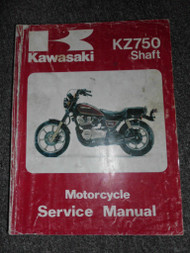 1982 1983 1984 Kawasaki KZ750 Shaft Service Repair Shop Manual OEM FACTORY x