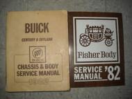 1982 BUICK CENTURY Shop Repair Service Manual SET OEM DEALERSHIP BOOKS OEM