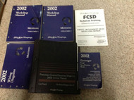 2002 Ford Mustang Gt Cobra Mach Service Shop Repair Manual Set W EWD PCED + MORE