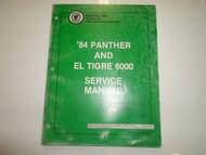 1984 Arctic Cat Panther El Tigre 6000 Service Repair Workshop Manual OEM 84 x