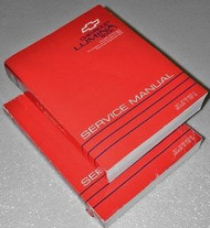 1993 Chevrolet Lumina CAR Repair Service Manual Set DEALERSHIP OEM BOOKS 1993