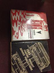 1985 GM Pontiac Firebird Trans Am Service Shop Repair Workshop Manual Set W Publ