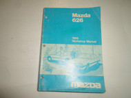 1985 Mazda 626 Workshop Repair Manual WORN FADED FACTORY OEM BOOK 85 DEALERSHIP
