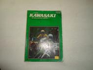 1966 1977 Clymer Kawasaki 80 450cc Service Repair Performance Manual WORN DEAL