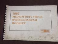 1987 GM Chevy Medium Truck Wiring Electrical Wiring Diagram Manual OEM 1987