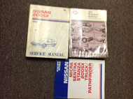 1987 Nissan 200SX Service Repair Shop Manual Factory SET W Bulletin + Product BK