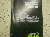 1988 Arctic Cat Wildcat 650 Service Repair Shop Manual FACTORY OEM BOOK 88 x