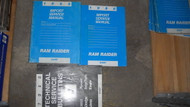 1988 Dodge Ram Raider Truck Service Repair Shop Manual SET W Technical Bulletins