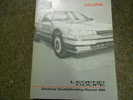 1990 Acura Legend Coupe Electrical Troubleshooting Wiring Diagram Manual EWD NEW