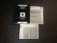 1991 Dodge Ram Van Wagon RWD Service Shop Repair Workshop Manual Set RWD Mopar