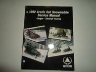 1992 Arctic Cat Cougar Cheetah Touring Service Manual MINOR WEAR FACTORY OEM 92