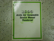 1993 Arctic Cat Thundercat Service Repair Shop Workshop Manual FACTORY OEM x
