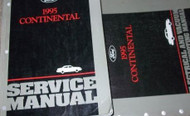 1995 LINCOLN CONTINENTAL Service Shop Manual Set OEM 95 FACTORY HOW TO FIX BOOK