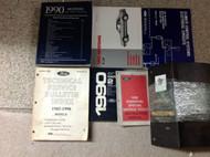 1990 Ford Mustang Gt Cobra Service Shop Repair Manual SET W EWD PLUS ALOT MORE