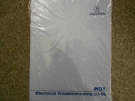 2004 ACURA MDX Electrical Wiring EWD Service Repair Shop Manual FACTORY OEM USED