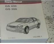 2004 Lexus GS430 GS300 GS 430 GS 330 Service Shop Repair Manual VOLUME 2 ONLY