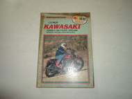 1979-1981 Clymer Kawasaki KZ500 550 FOURS Service Repair Maintenance Manual WORN