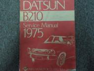 1975 Datsun B210 Service Repair Shop Workshop Manual OEM Book Factory x