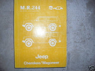 1983 1984 1985 JEEP Cherokee Wagoneer Service Shop Repair Manual OEM FACTORY