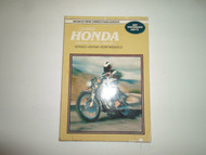 1964 1977 Clymer Honda 125 200cc TWINS Service Repair Performance Manual STAINED