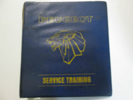 Peugeot Service Training Binder FACTORY OEM USED Wear Binder Only Rare
