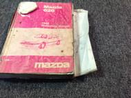 1986 Mazda 626 Workshop Service Repair Shop Manual OEM Ripped Cover Loose Pages