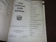 1965 GM Cadillac Shop Service Repair Workshop Manual FACTORY BRAND NEW