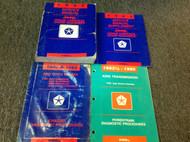 1993 JEEP GRAND CHEROKEE & GRAND WAGONEER Shop Service REPAIR Manual Set W DIAGN