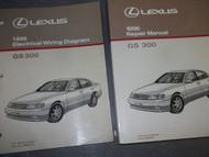 1996 Lexus GS300 GS 300 Service Shop Repair Manual SET DEALERSHIP 96 W EWD x