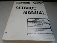 Mercury Marine Outboards Service Manual 135 150 175 200 90-816249 OEM Boat x