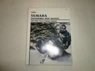 1997 2002 Clymer Yamaha Snowmobile Three Cylinder Models Shop Manual DEAL ***