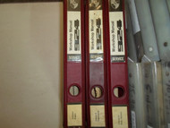 1978 79 80 Porsche 924 Service Workshop Repair Manual BINDER STAINS 3VOL SET INC