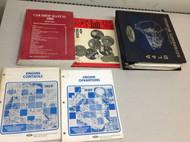 1989 Ford Mustang Gt Cobra Service Shop Manual Set OEM W EWD & Transmission BK x