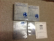 2001 Ford Mustang Gt Cobra Mach Service Shop Repair Manual Set W EWD & Specs OEM