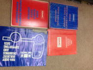 1984 GMC HEAVY DUTY TRUCK Service Shop Repair Manual Set W Supplement EWD + More