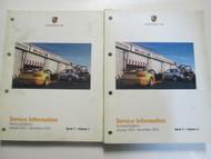 2003 Porsche Service Information Technical Bulletin Manual Factory OEM Books Set