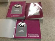1997 FORD LINCOLN TOWN CAR Service Shop Repair Manual Set W EVTM & FACTS BOOK x