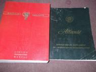 1990 90 Cadillac Allante Service Shop Repair Manual SET W Supplement OEM GM Book