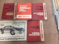 1978 GM Chevy Chevrolet Corvette Service Repair Shop Manual Set W Wiring Diagram
