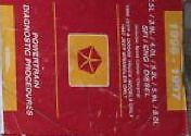 1997 JEEP GRAND CHEROKEE & WRANGLER Powertrain Diagnostics Procedures Manual